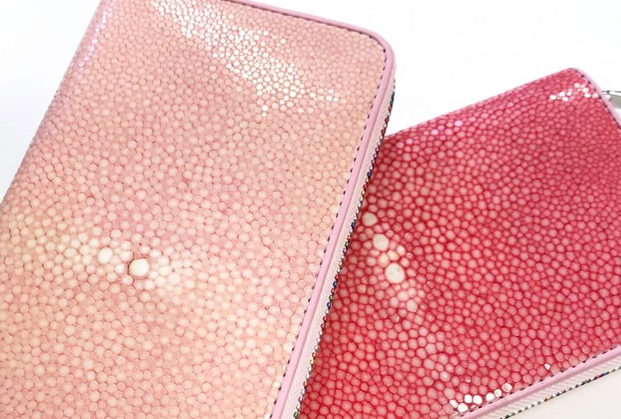 バハリの長財布に新しいカラーが。